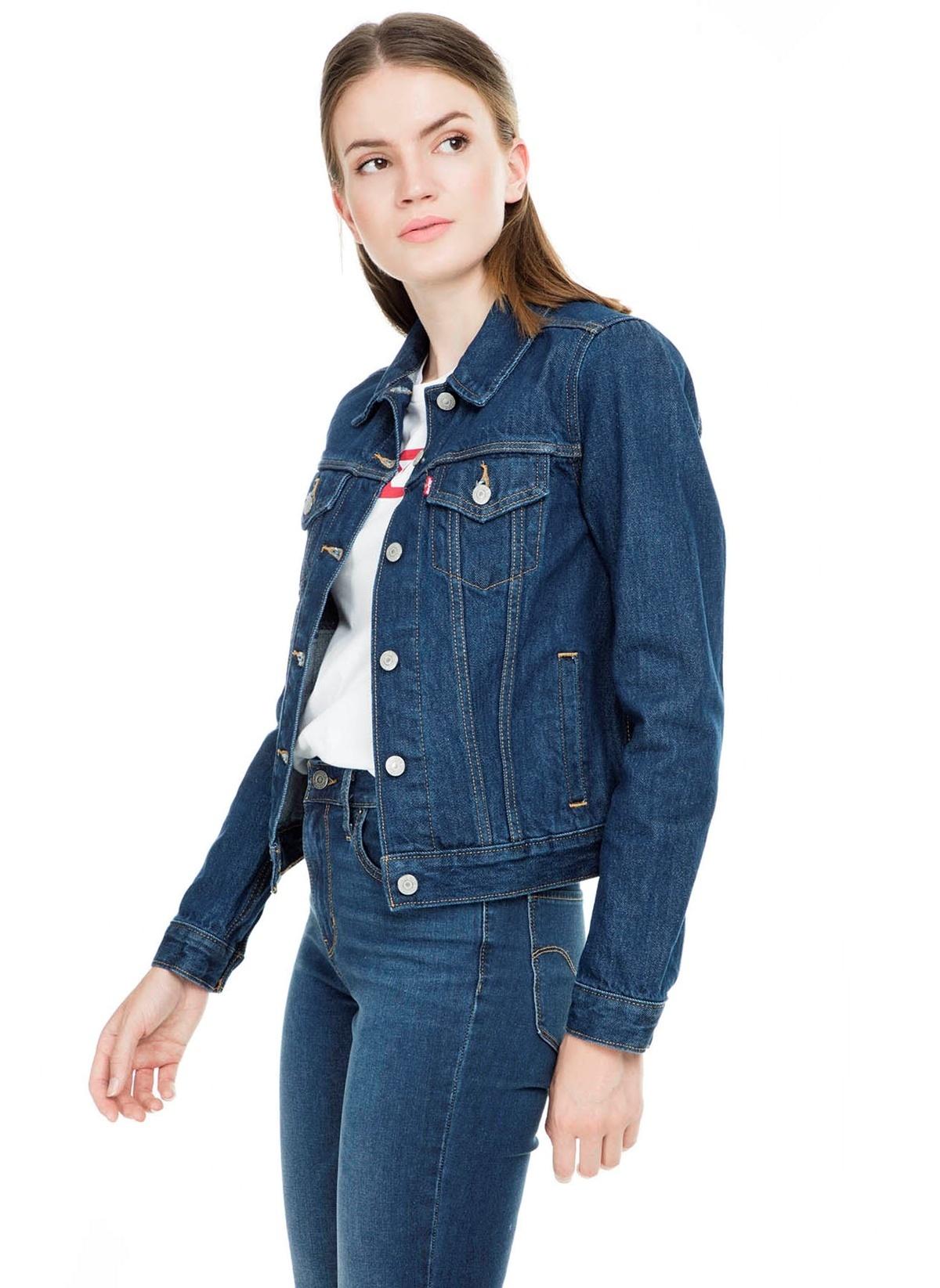 Levis®  Levi's® Jean Ceket 29945-0036-Kadın–Kot-Ceket